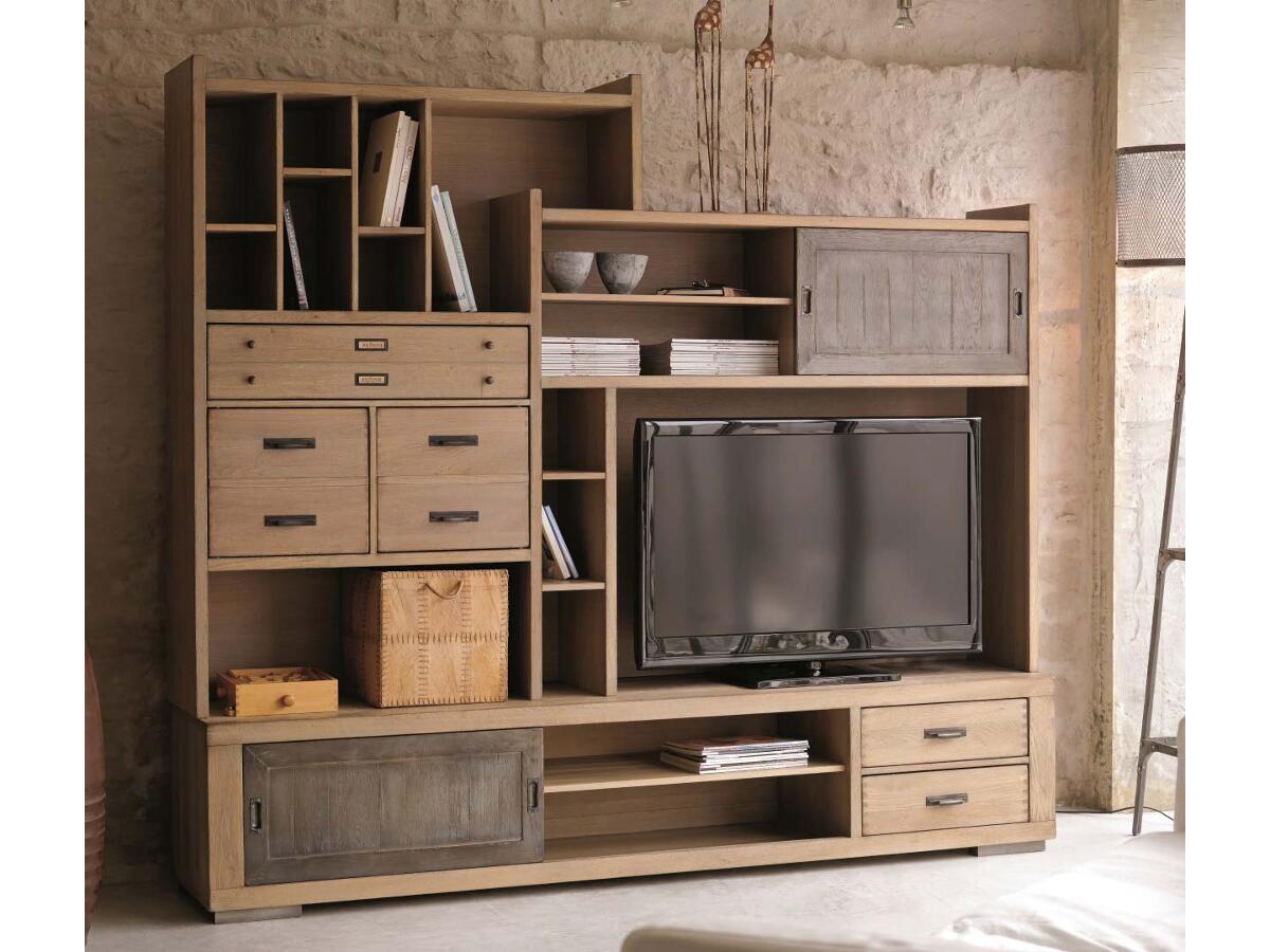 3 modulable meuble tv brou. Black Bedroom Furniture Sets. Home Design Ideas