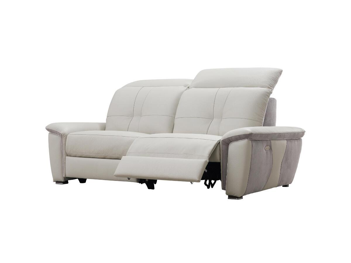 Canape 2 places relax a brou for Tapis de couloir avec canapé 2 places relax électrique tissu