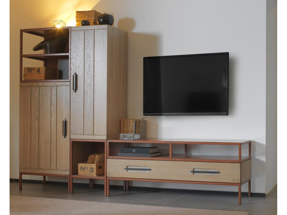 meuble tv chevalet perfect quai with meuble tv chevalet. Black Bedroom Furniture Sets. Home Design Ideas